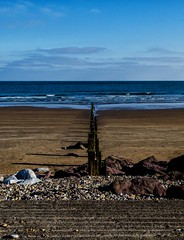beautiful day, now in colour (coffee robbie..PROTECTED BY PIXSY) Tags: nikond5100 nikon kitlens munster youghal eire eochill europe cork coast clouds color colour beach