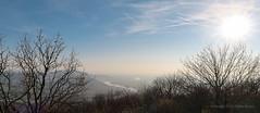 019Mar 30: Danube Panorama by Hainburg, Austria (Johan Pipet 2M+ views) Tags: flickr landscape krajinka view vista sunset skyline horizon sky obloha river rieka dunaj danube donau haonburg austria osterreich border borderland hranica devinska kobyla hill kopec hike walk forest spring jar bratislava slovakia slovensko eu europe palo bartos bartoš canon g7x markii