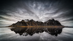 Vestrahorn Reflections (petebristo) Tags: vestrahorn iceland waterscape landscapes reflections