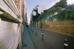 Rimini (goodfella2459) Tags: nikonf4 cinestill50 35mm c41 film analog colour rimini italy road buildings manilovefilm