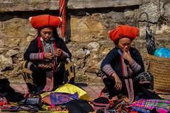 Red Dao Women (Valdas Photo Trip) Tags: vietnam sapa people traditional ethnic