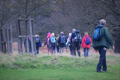 """""""Onward To Richmond"""" ...Greater London...Not Virginia...It Was Here First ! (standhisround) Tags: richmonduponthames richmondpark richmond park people greaterlondon london england uk trees countryside hikers walking grass"""