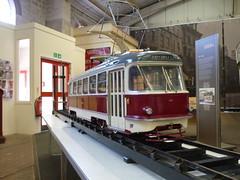 Robert Whetstone built this 1/8 scale working model of a 'UK version of the Tatra T3'. (huddlestoneja8) Tags: tatra tram t3 crich whetstone