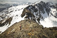 pic de la coume d'enfer (le pere ubu) Tags: alpinisme rocher montagne moutains neige ariège pyrénée escalade ski vg lepereubu