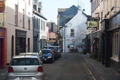 Kinsale Street (lazy south's travels) Tags: kinsale countycork ireland irish europe european pub inn bar urban town center centre car road street scene building architecture