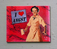 - (txmx 2) Tags: hamburg streetart archive reloaded emart angst tile stencil