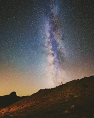 New Mexico ([ raymond ]) Tags: astrophotography cabezonpeak landscape milkyway newmexico night stars