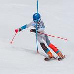 Vernon Teck Okanagan Zone Finals - Coen slalom