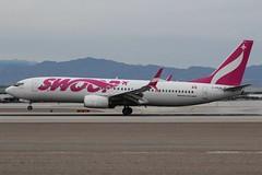 Swoop (So Cal Metro) Tags: swoop boeing 737 738 737800 cfpls las lasvegas vegas airliner airline aircraft aviation airport jet mccarran mccarranairport
