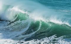 Cresting Surf (Gene Mordaunt) Tags: portugal cascais hellsgate ocean sea wave surf green foam nikon810