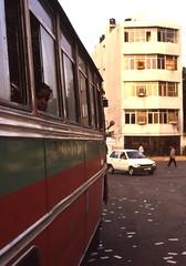 New Delhi (Paolo Levi) Tags: delhi india bus canon fd ftb 50mm ilfochrome