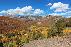 Kebler Pass, Colorado (russ david) Tags: kebler pass co colorado landscape road high mountain gunnison county autumn fall october 2018 drive marcellina aspen trees