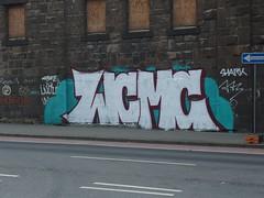 WCMC (mkorsakov) Tags: dortmund city innenstadt graffiti wand wall piece silber silver wcmc