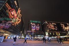 East Tsim Sha Tsui at Night (tomosang R32m) Tags: easttsimshatsui 尖東 尖沙咀東 尖沙咀 tsimshatsui hongkong 香港 newyear countdown yakei 夜景 kowloon 九龍 christmas xmas illumination