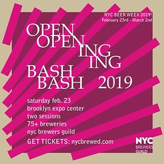 The count down is on: 1 week until NYC BEER WEEK 2019 officially starts. Come see us at the official Opening Bash on Saturday February 23rd. Get tickets through the link in our profile. OTHER BEER WEEK EVENTS: Fri. Feb 22nd - Beer Week Pre-Party at @three (folksbier) Tags: the count down is on 1 week until nyc beer 2019 officially starts come see us official opening bash saturday february 23rd get tickets through link our profile other events fri feb 22nd preparty threesbrewing sun 24th glow up party folksbiertastingroom mon 25th tap takeover brouwerijlane folksbier folksbierglowup glowupparty nycbeerweek beerweek2019 beerweek brooklyn craftbeer localbeer