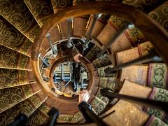 Paris 2019: Spiral stairs (mdiepraam (35 mln views)) Tags: paris 2019 muséegustavemoreau interior stairs spiralstaircase hands building architecture