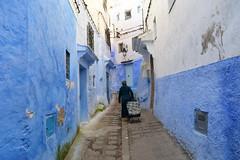 Chefchaouen, Morocco, January 2019 D810 856 (tango-) Tags: chefchaouen bluecity villaggioblu bluevillage morocco maroc 摩洛哥 marruecos марокко المغرب absoluteblue