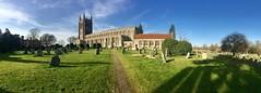Holy Trinity, Long Melford (nickcoates74) Tags: holytrinity 6s iphone panorama church suffolk longmelford