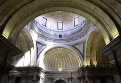 Panteão Nacional de Santa Engracia (Douguerreotype) Tags: balcony lisbon geometric symmetry lisboa buildings dome geometry arch portugal architecture city window church