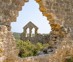 Château d'Aumelas - Clocher (Cyril Ribault) Tags: aumelas hérault occitanie france ruine eglise clocher donjon castellas pentax kr tamron tamronaf18200mmf3563xrdiiildasphericalif