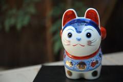 Little cat (Teruhide Tomori) Tags: japan japon kyoto tradition culture 日本 京都 伝統 文化 cat antique