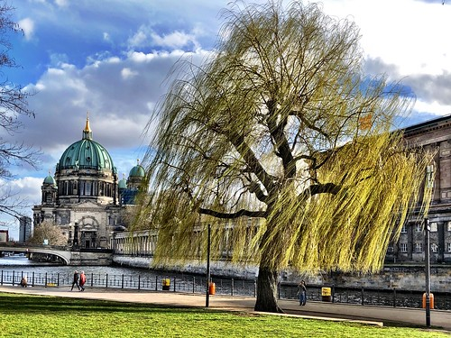 The Berlin Cathedral at the spring