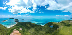 (Fifinator) Tags: drone aerial bahamas berry islands carribbean island caribbean ocean blue hole sea atlantic turqoise green deserted privated from above panorama