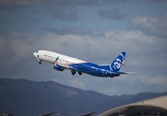 N265AK Boeing 737-990ER Alaska Airlines (corkspotter / Paul Daly) Tags: n265ak boeing 737990er w b739 62682 6113 l2j fjpr a2919a asa as alaska airlines 2016 20161017 klax lax los angeles