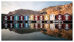 Classic Smögen shot (leo.roos) Tags: colourful house cabin reflection weerspiegeling longexposure tijdopname sel1670z variotessar16704za variotessarte41670 smögen scherenkust archipelago swedenspring2018 a7rii sonycarlzeiss1670mmf4zaossvariotessar sonycz16704 apsc darosa leoroos