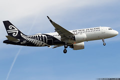 Air New Zealand Airbus A320-271N cn 8833 F-WWDE // ZK-NHC (Clément Alloing - CAphotography) Tags: air new zealand airbus a320271n cn 8833 fwwde zknhc toulouse airport aeroport airplane aircraft flight test canon 100400 spotting tls lfbo aeropuerto blagnac airways aeroplane engine sky ground take off landing 1d mark iv avgeek avgeeks planespotter spotter