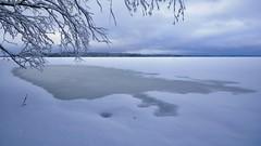 Spring is coming (Kari Siren) Tags: ice water lake winter spring karijarvi jaala kouvola finland