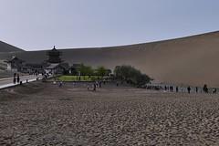PEK2FR | Dunhuang | Crescent Moon Lake (jan.martin) Tags: cn china roadtrip pek2fr cn2de ctrek gansu 月牙泉 yueyaquan crescent moon lake crescentmoonlake crescentlake moonlake crescentmoon