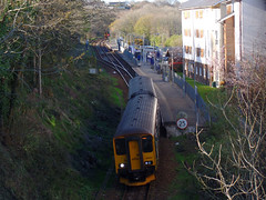 150247 Penryn (Marky7890) Tags: 150247 2t83 gwr 150263 class150 sprinter 2f84 penryn railway cornwall maritimeline train