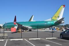 LN-BKB (LAXSPOTTER97) Tags: norwegian lnbkb boeing 737 7378 max cn 42833 ln 7042 mark twain aviation airport airplane krnt