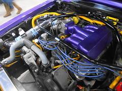 1993 Ford Mustang LX Convertible (splattergraphics) Tags: 1993 ford mustang convertible engine customcar carshow motorama pafarmshowcomplex harrisburgpa
