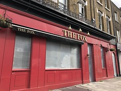 The Fox (closed), Haggerston (looper23) Tags: closed pub haggerston public house march 2019 ale drink london