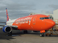 N832SY B737 8KN Sun Country (corrydave) Tags: 40243 b737 b737800 suncountry a6fdp n832sy shannon