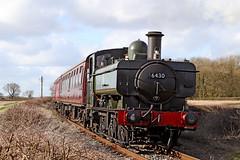6430 GWR 0-6-0 pannier tank (Roger Wasley) Tags: 6430 gwr 060 pannier tank battlefieldline steam locomotive heritage preserved preservation leicestershire