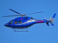 G-ODSA Bell 429 (SteveDHall) Tags: aircraft airport aviation airfield aerodrome helicopter horseracing aintreeracecourse aintree grandnational 2019 generalaviation ga b429 bell bell429 godsa