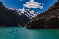 Shimmering Lake (Mansoor Bashir) Tags: pk pakistan gojal valley lake gilgitbaltistan gilgit hunza karakoram karakorams himalayas himalaya mountains snowcapped snow rocky landscape rural water aqua blue