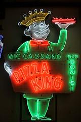 Cassano's Pizza King neon sign (SeeMidTN.com (aka Brent)) Tags: americansignmuseum cincinnati oh ohio viccassano cassanos pizzaking neon sign 1950s pizza momdonisi fastfood restaurant bmok explore