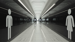 Stansted Airport (the_hoppe_) Tags: airport empty bleak sad toilete cold long stansted canon eos 60d