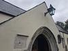 Porch of St Cadoc's Church, Llancarfan, Glam (janetg48) Tags: gwuk porch church llancarfan stcadoc glam