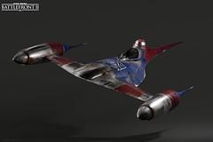 Gleb Gang N1 Starfighter (CosmicDreamsOfPhotography) Tags: blender render cycles gleb gang battlefront starwars n1 starfighter