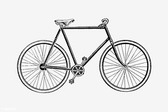 Bicycle in vintage style (Free Public Domain Illustrations by rawpixel) Tags: 19th monograph aged antique artwork bicycle big bike blackandwhite cc0 century classic creativecommons0 cycle design drawing elegance elegant engraving equipment etching historical history illustration isolated line machine machinery marshallco monographic name old outdoor pedal publicdomain recreation recreational retro ride simpkin sketch speed sport style tour transport transportation travel vehicle vintage wheel whitebackground