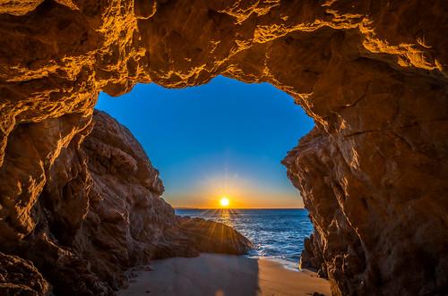 Nikon D850! Malibu Sea Cave Sunset Fine Art California Coast Beach