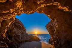 Nikon D850! Malibu Sea Cave Sunset Fine Art California Coast Beach Landscape Seascape Photography! Nikon D850 & AF-S NIKKOR 14-24mm F2.8G ED from Nikon! High Res 4k 8K Photography! Elliot McGucken Fine Art Pacific Ocean Sunset! (45SURF Hero's Odyssey Mythology Landscapes & Godde) Tags: nikon d850 malibu sea cave sunset fine art california coast beach landscape seascape photography afs nikkor 1424mm f28g ed from high res 4k 8k elliot mcgucken pacific ocean