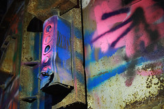 Echo Lake Incinerator 1.27.19.24 (jrbeckwith) Tags: echolakeincinerator 2019 photo picture jr beckwith jbeckr fortworth texas tx echo lake incinerator endangered danger old history historic abandoned left decay drug drugdealer graffiti girls shoot ruins