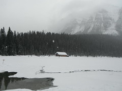 Lake Louise Parks Canada (Mr. Happy Face - Peace :)) Tags: lakelouise fairmount hotel chateau mountains snowfall rockies albertabound canada art2019 scenery landscape 25years activities