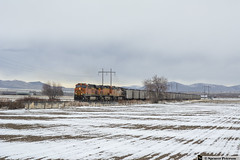 BNSF 7428 Leading (Utah3002) Tags: bnsf cwec2 sharpsub unionpacific up trains railroads railfans utah